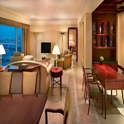3 Bedroom Connecting Family Rooms & Prince Suite Apartments at Grand Hyatt Dubai