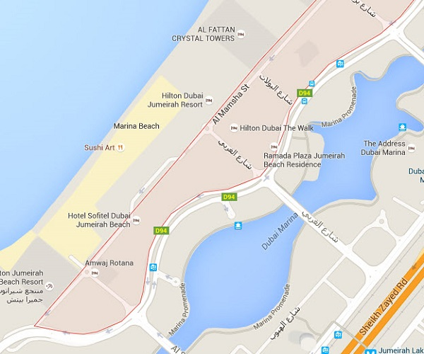 Jumeirah Beach Residence Dubai Three Bedroom Apartments Dubai